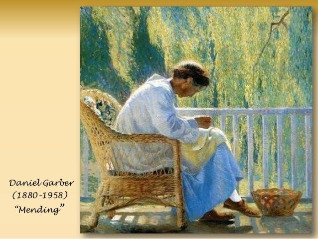 Daniel Garber (1880–1958) ―Mending‖