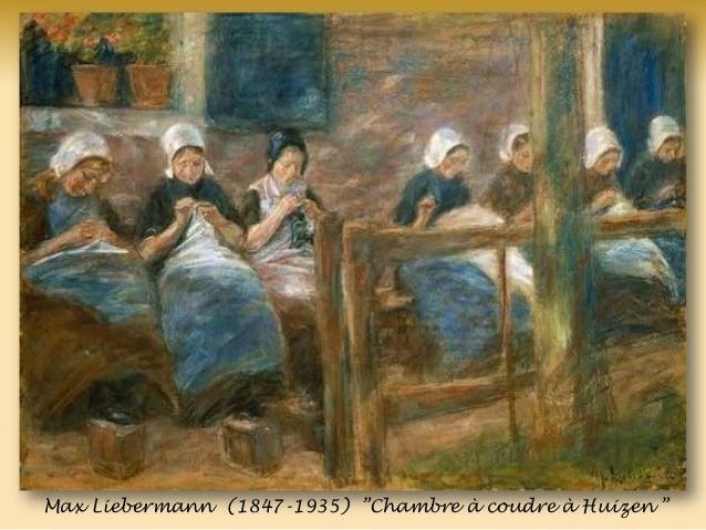 Max Liebermann (1847-1935) ‖Chambre à coudre à Huizen ‖