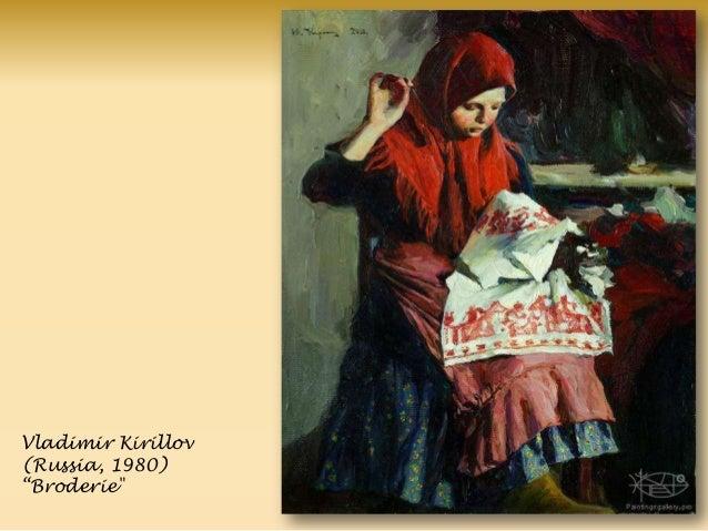 "Vladimir Kirillov (Russia, 1980) ―Broderie"""