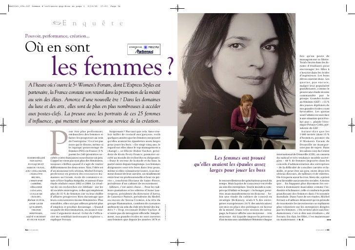 MAG3041_054-067 femmes d'influence.qxp:Mise en page 1            9/10/09    17:53   Page 54                               ...