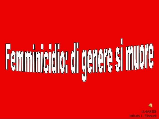 cl.4ASSS Istituto L. Einaudi