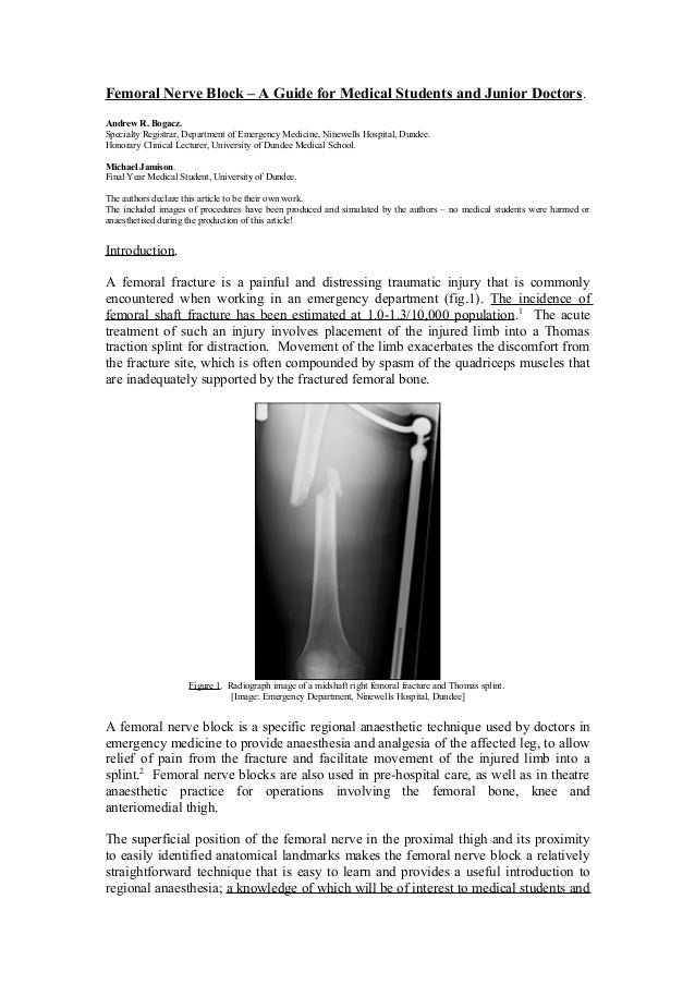 femoral nerve block – a guide for medial students and junior doctors., Muscles