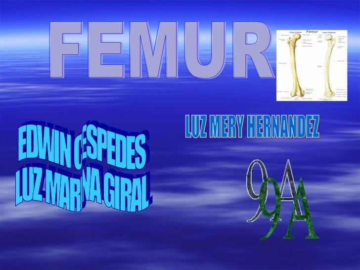 FEMUR EDWIN CESPEDES LUZ MARINA GIRAL LUZ MERY HERNANDEZ 9A