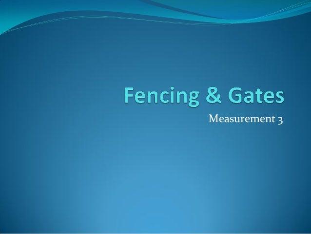 Measurement 3
