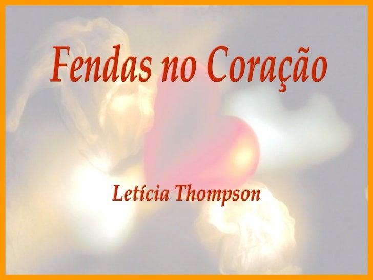 Fendas no Coração Letícia Thompson