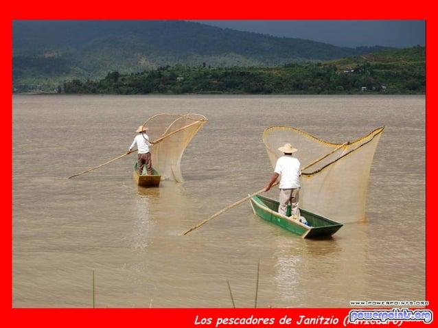 Los pescadores de Janitzio (Patzcuaro)