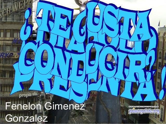Fenelon GimenezGonzalez