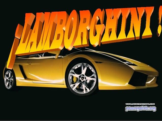 Fenelon Gimenez Gonzalez Lamborghini Slide 2