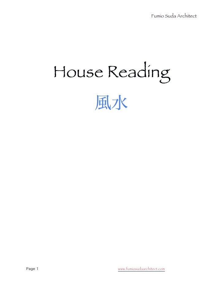 Fumio Suda Architect     House Reading            www.fumiosudaarchitect.com