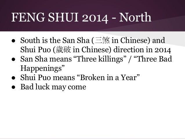 feng shui 2014 bad directions to avoid. Black Bedroom Furniture Sets. Home Design Ideas