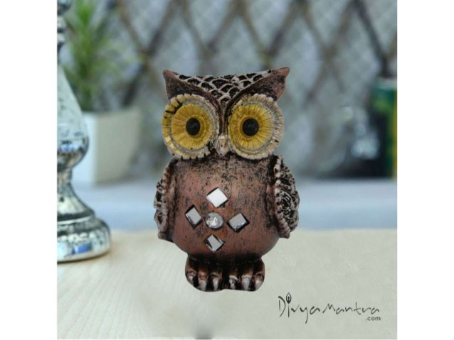 Feng Shui Colourful Owl For Protection