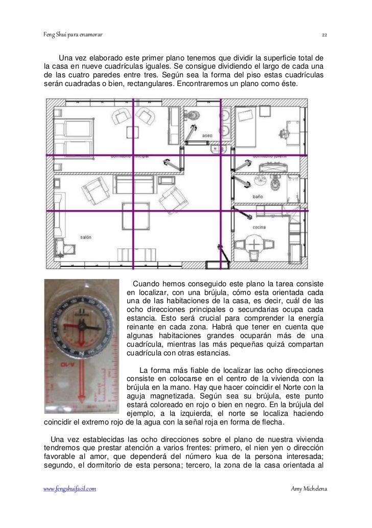 Feng shui cama orientacion affordable fabulous amazing for Plano casa feng shui ideal