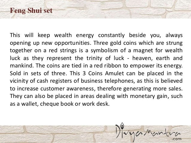 Feng Shui Set Of Chinese Coins With Bracelet Good Luck Card And Doub