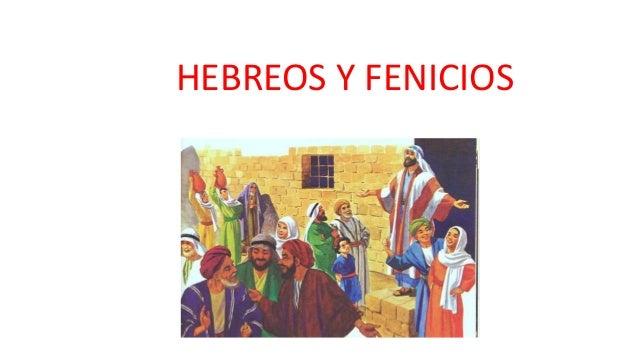 HEBREOS Y FENICIOS