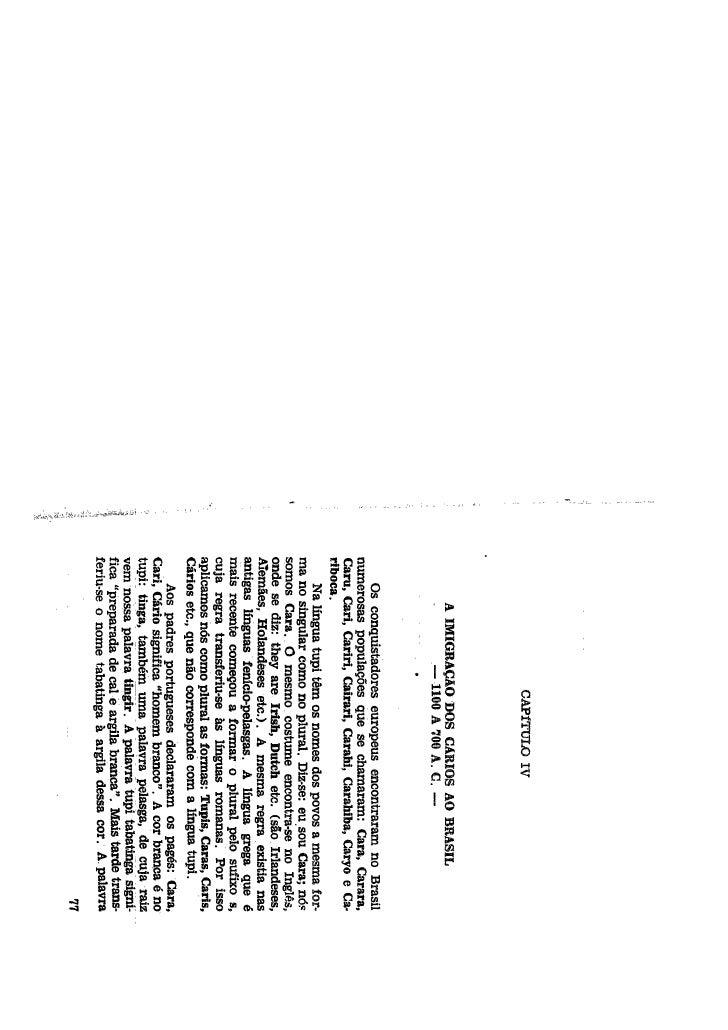 Antiga história do Brasil -de 1100 a c a 1500 dc - parte 2 - Ludwig Schwennhagen