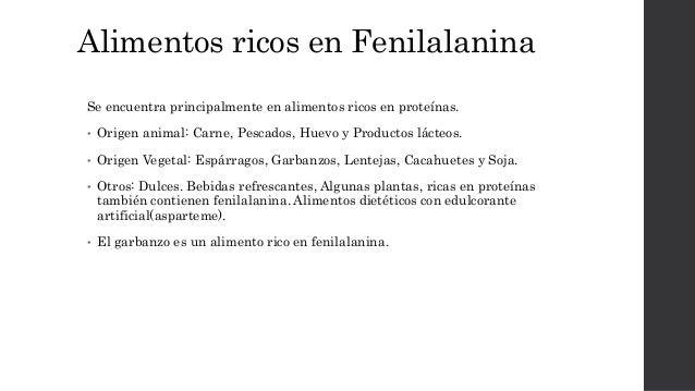 Fenilalanina y fenilcetonirua - En que alimentos se encuentra zinc ...