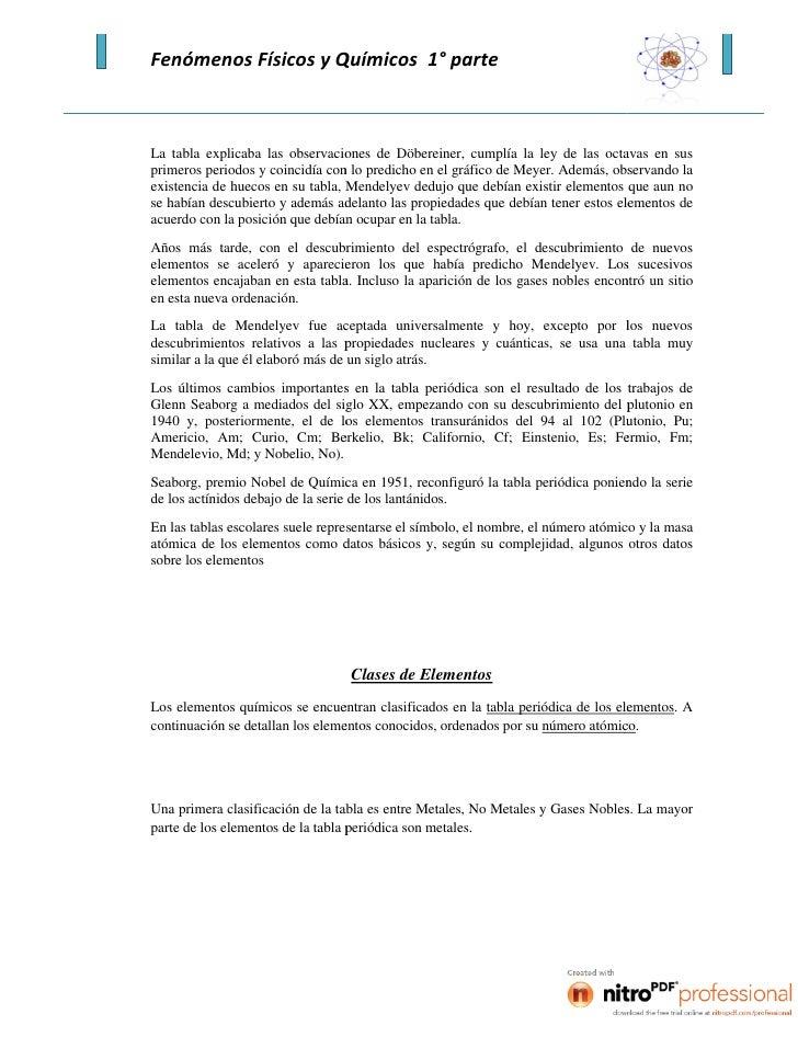 Fenmenos fsicos y qumicos pgina 27 28 la tabla urtaz Image collections
