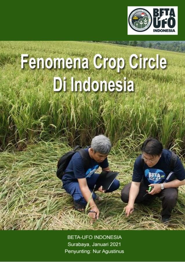 1 FENOMENA CROP CIRCLE DI INDONESIA Disusun oleh: BETA-UFO INDONESIA Diterbitkan dalam bentuk buku Surabaya, Januari 2021 ...