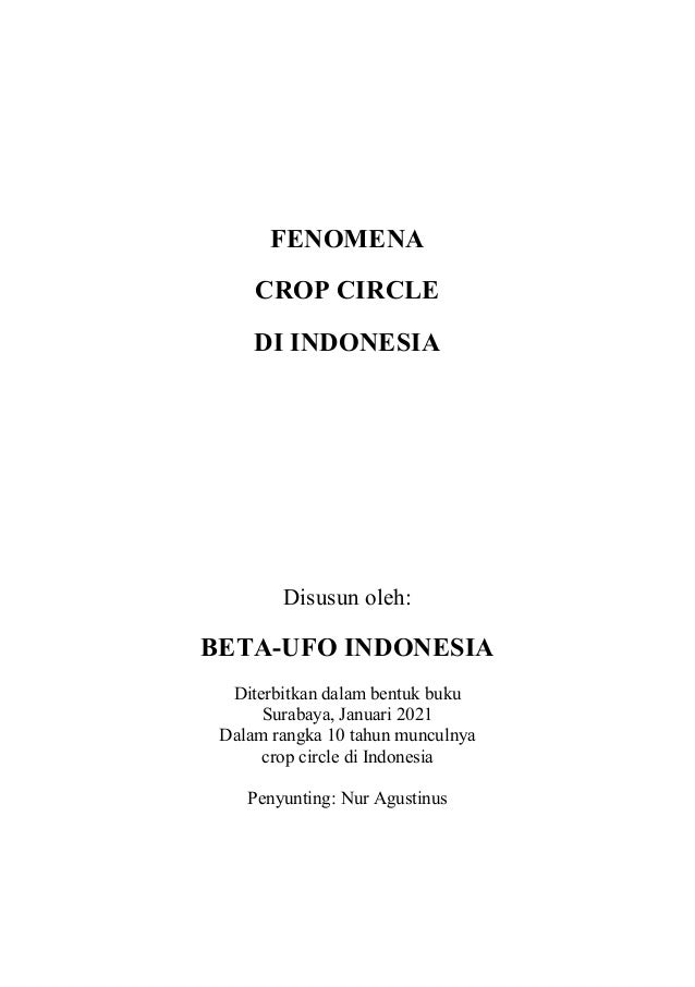 Fenomena Crop Circle Di Indonesia Slide 2