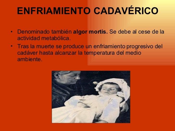 Fenómenos Cadavéricos( Exam)