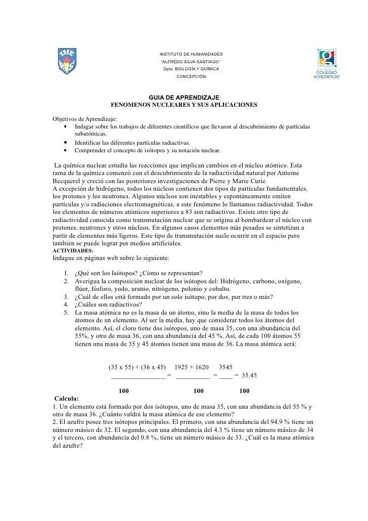 """INSTITUTO DE HUMANIDADES                                            """"ALFREDO SILVA SANTIAGO""""                              ..."""