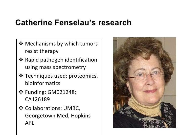 <ul><li>Mechanisms by which tumors resist therapy </li></ul><ul><li>Rapid pathogen identification using mass spectrometry ...