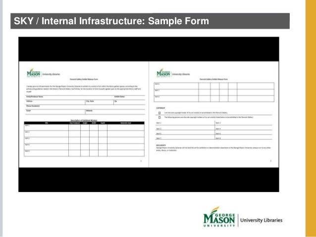 SKY / Internal Infrastructure: Sample Form