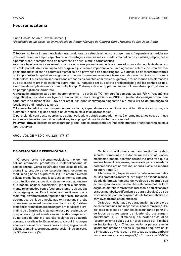 Costa L & Taveira Gomes A                                                                            FeocromocitomaREVISÃO...