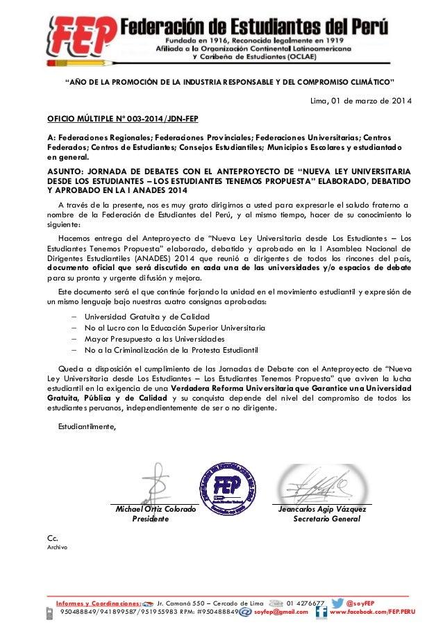 Informes y Coordinaciones: Jr. Camaná 550 – Cercado de Lima 01 4276677 @soyFEP 950488849/941899587/951955983 RPM: #9504888...