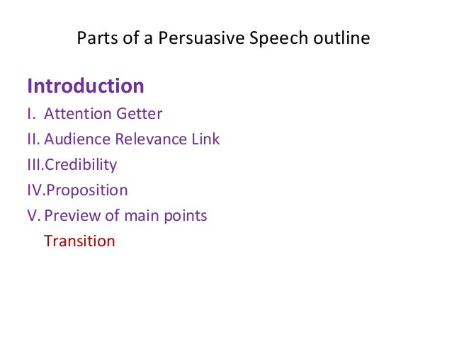persuasive speech on recycling attention getter Outline for persuasive speech add add all pages done  a attention getter : i'll show video/presentation about effects from a non-healthy lifestyle.