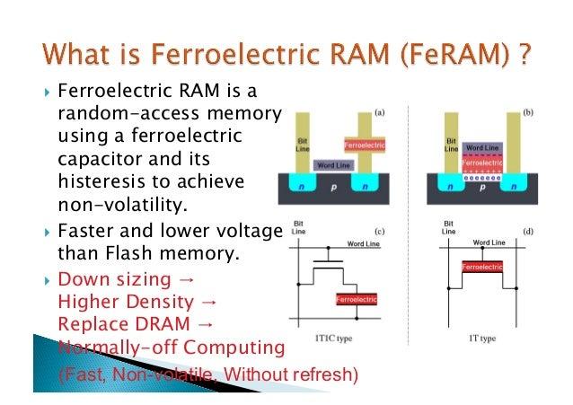 Ferroelectric random access memory (feram) ppt video online download.