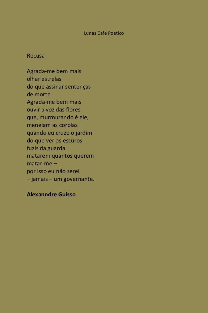 Feras Da Poetica