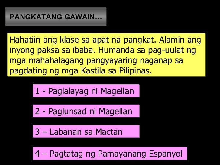 kaganapan sa pagdating ni magellan sa pilipinas Xiaotime, 15 march 2013: ang pagdating ni magellan sa pilipinas, discovery of the philippines nga ba by xiaochua.