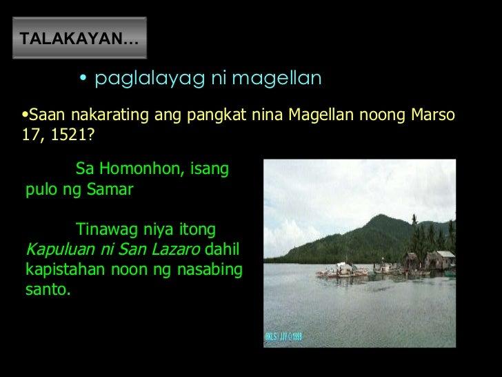 Pagdating ni magellan sa limasawa scenery