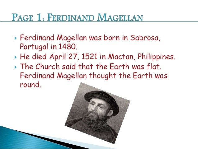 ferdinand magellan birthplace