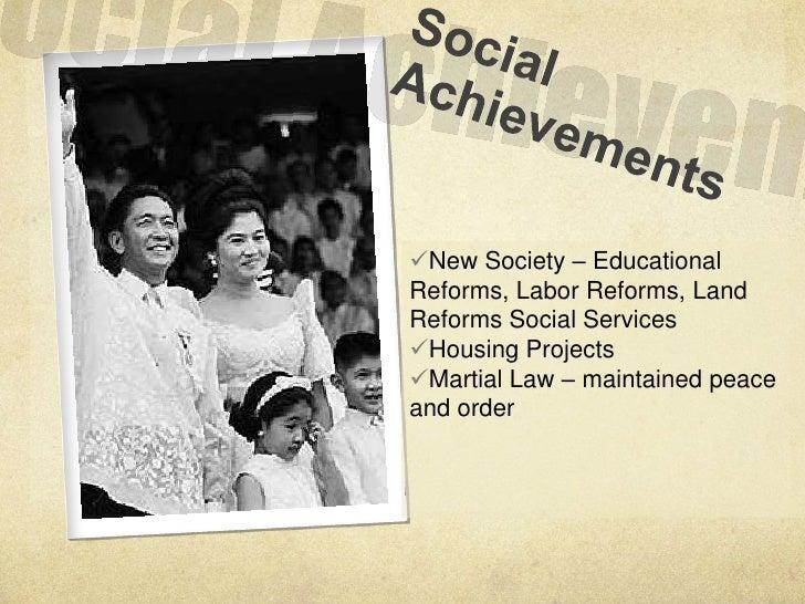 Talambuhay ng dating pangulong ferdinand marcos achievements