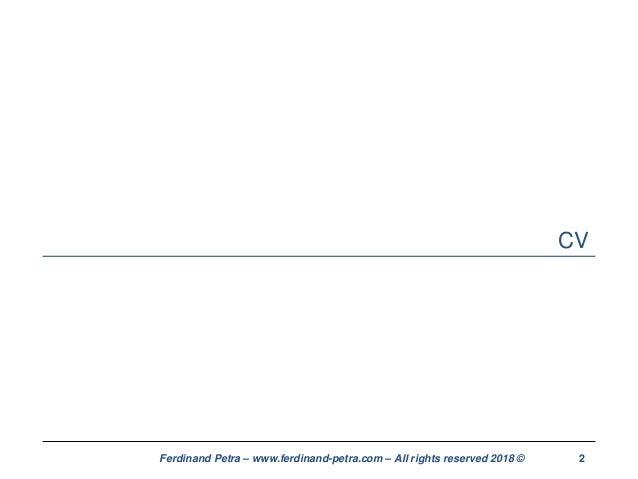 Ferdinand petra - CV and cover letter optimization Slide 2