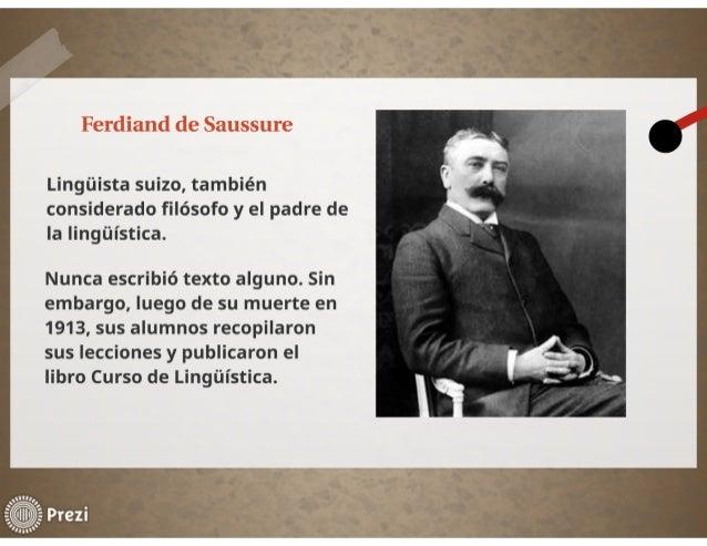 Ferdinand de Saussure Slide 3