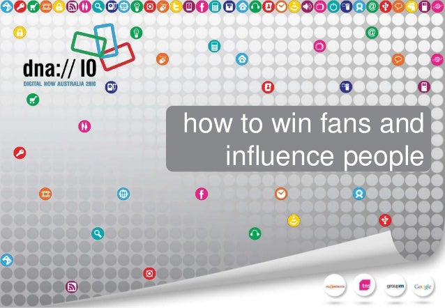 how to win and influence people