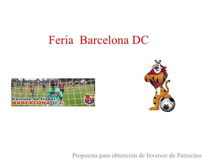 Feria barcelona dc zucaritas for Proximas ferias en barcelona