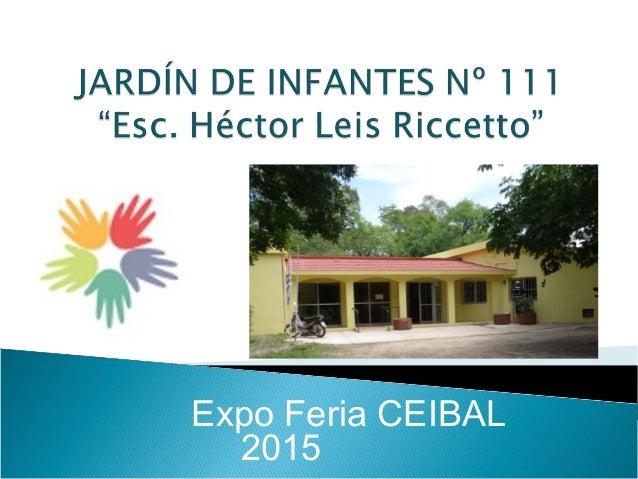 Expo Feria CEIBAL 2015
