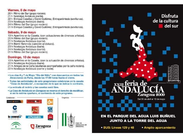 Feria De Andalucia en Zaragoza