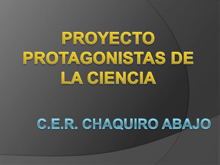 ¿Cómo motivar la participación de los niños yniñas en el proyecto feria de la ciencias y latecnología del C.E.R. CHAQUIRO ...