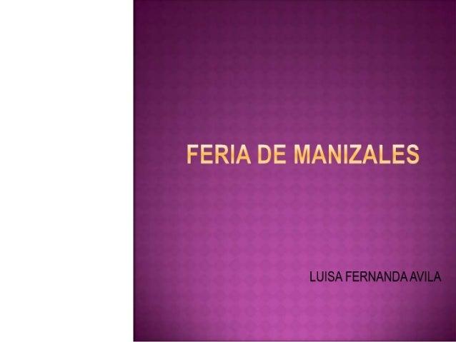 l-i_'  LUISA FERNANDA AVILA