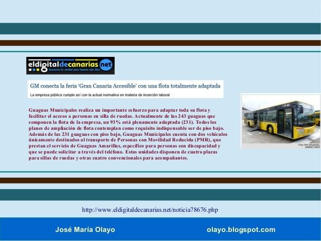 Feria gran canaria accesible for Sillas para guaguas