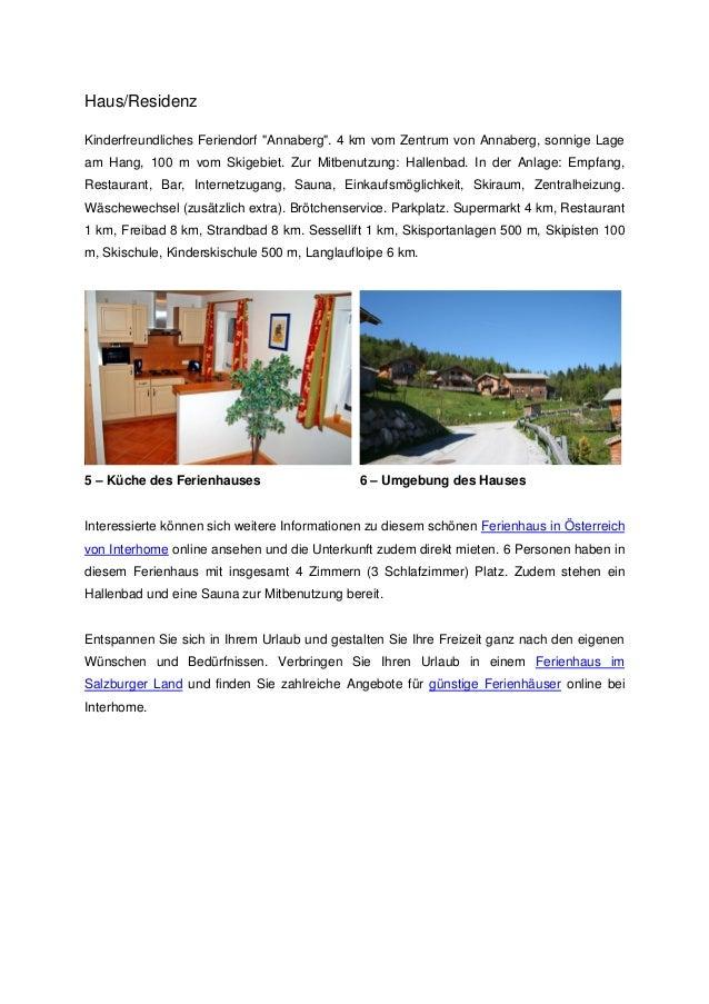 """Haus/ResidenzKinderfreundliches Feriendorf """"Annaberg"""". 4 km vom Zentrum von Annaberg, sonnige Lageam Hang, 100 m vom Skige..."""