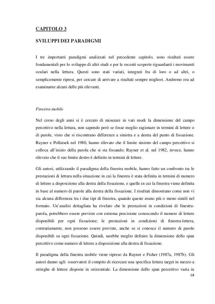 CAPITOLO 3SVILUPPI DEI PARADIGMII tre importanti paradigmi analizzati nel precedente capitolo, sono risultati esserefondam...