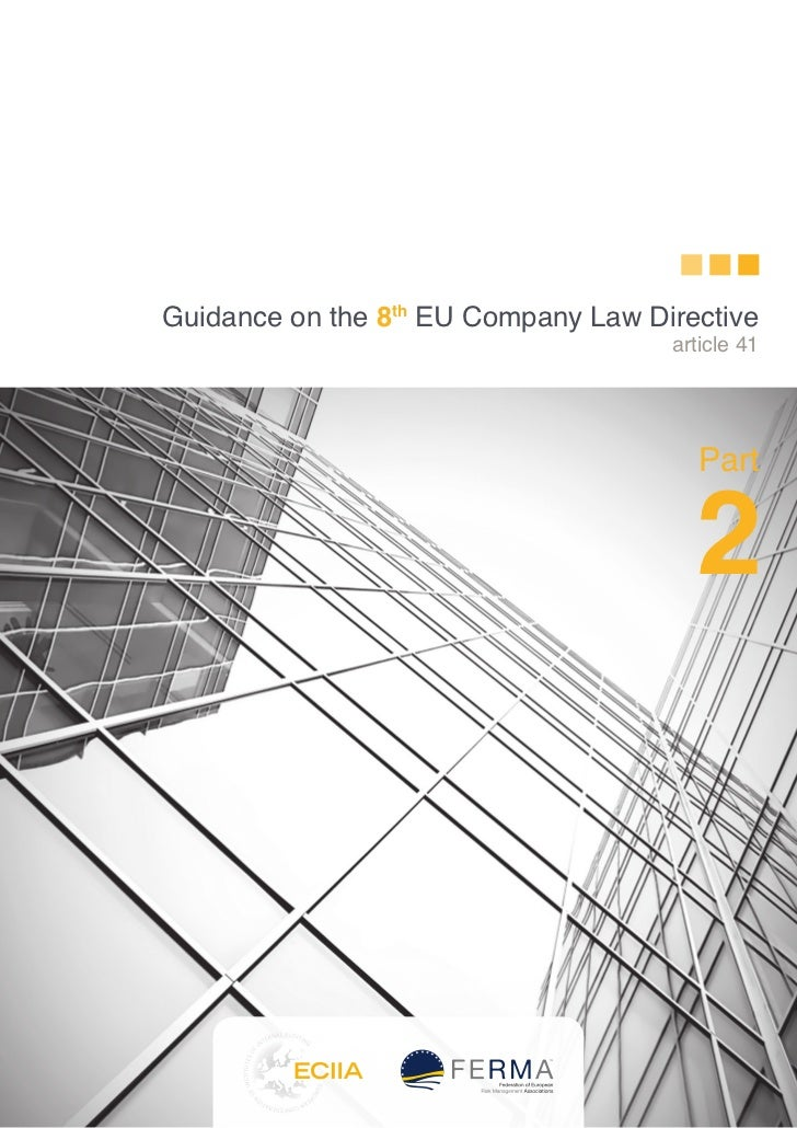 Guidance on the 8th EU Company Law Directive                                     article 41                               ...