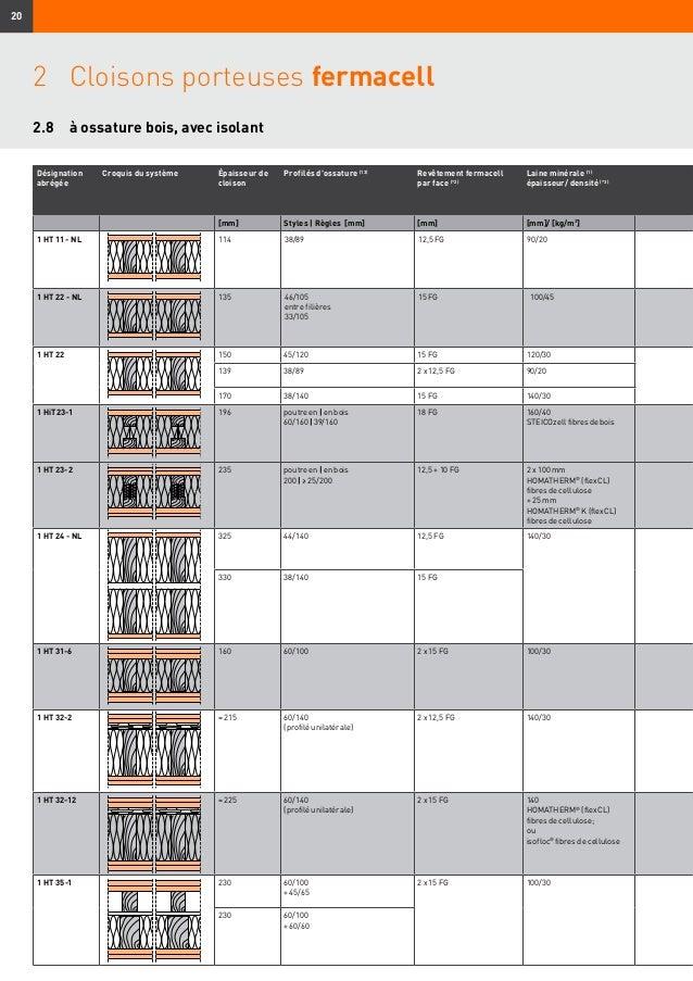 fermacell constructions de parois plafonds et planchers 06 2014. Black Bedroom Furniture Sets. Home Design Ideas