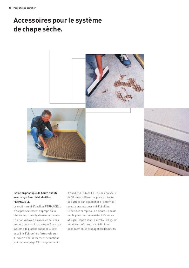 fermacell documentation generale sol. Black Bedroom Furniture Sets. Home Design Ideas